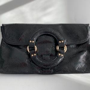 Sigrid Olsen Leather Clutch Convertible Wristlet